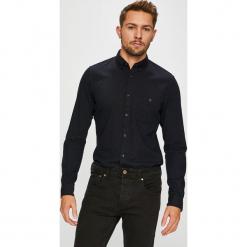 Tom Tailor Denim - Koszula. Czarne koszule męskie na spinki marki TOM TAILOR DENIM, l, z bawełny, button down, z długim rękawem. Za 169,90 zł.