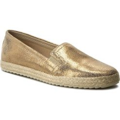 Espadryle damskie: Espadryle TAMARIS – 1-24644-28 Gold Metallic 956