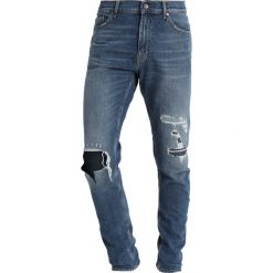 Tiger of Sweden Jeans EVOLVE Jeans Skinny Fit light blue. Niebieskie rurki męskie marki Tiger of Sweden Jeans. Za 709,00 zł.