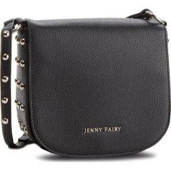 Torebka JENNY FAIRY - RH1199 Black. Czarne listonoszki damskie Jenny Fairy, ze skóry ekologicznej, na ramię. Za 89,99 zł.
