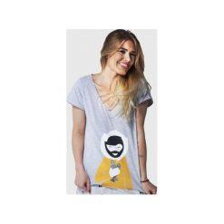 SAMBACA Eskimo - Tshirt. Szare t-shirty damskie Meet the llama, m, melanż, z bawełny. Za 89,00 zł.