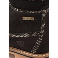 Tamaris Botki sznurowane black. Czarne buty zimowe damskie Tamaris, z materiału, na sznurówki. Za 399,00 zł.