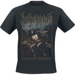 Behemoth ILYAYD Cover T-Shirt czarny. Niebieskie t-shirty męskie z nadrukiem marki Reserved, l, z okrągłym kołnierzem. Za 74,90 zł.