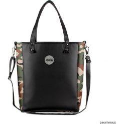 Torba Cuboid z eko skóry. Czarne torebki klasyczne damskie marki Pakamera, z bawełny. Za 220,00 zł.