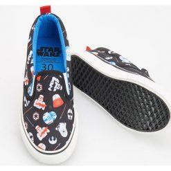 Buty sportowe chłopięce: Tenisówki typu slip on - star wars - Czarny
