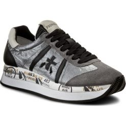Sneakersy PREMIATA - Conny 1493 Szary. Szare sneakersy damskie Premiata, z materiału. Za 969,00 zł.