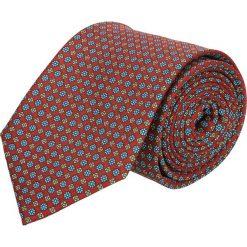 Krawat platinum bordo classic 241. Brązowe krawaty męskie Recman. Za 49,00 zł.