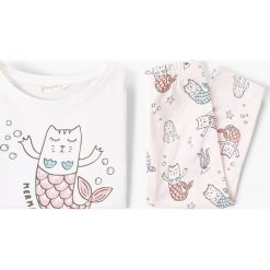 Odzież dziecięca: Mango Kids – Piżama dziecięca Sirena 110-164 cm