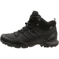 Adidas Performance TERREX SWIFT R2 MID GTX Buty trekkingowe core black. Czarne buty trekkingowe męskie adidas Performance, z materiału, outdoorowe. Za 679,00 zł.