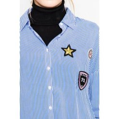Medicine - Koszula Hogwarts. Szare koszule damskie marki MEDICINE, l, z tkaniny, klasyczne, z klasycznym kołnierzykiem, z długim rękawem. W wyprzedaży za 59,90 zł.