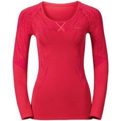 Odzież damska: Odlo Koszulka damska Evolution Light Blackcomb Shirt l/s czerwona r. S