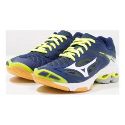 Buty sportowe damskie: Mizuno WAVE LIGHTNING Z3 Obuwie do siatkówki blue depths/white/safety yellow
