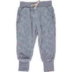 """Spodnie niemowlęce: Spodnie dresowe """"Poppy"""" w kolorze szarym"""