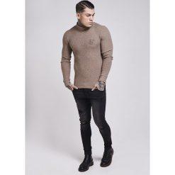 Swetry klasyczne męskie: SIKSILK TURTLE NECK Sweter beige