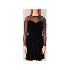 Sukienki krótkie Derhy  BERET. Czarne sukienki hiszpanki Derhy, l, z krótkim rękawem, mini. Za 265,30 zł.