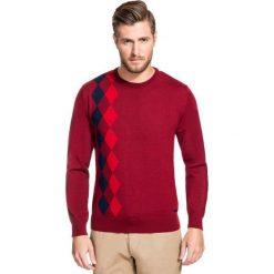 Sweter PIETRO SWT000076. Brązowe swetry klasyczne męskie Giacomo Conti, m, z wełny. Za 259,00 zł.