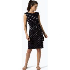 Ambiance - Sukienka damska, niebieski. Niebieskie sukienki z falbanami Ambiance, w kropki. Za 299,95 zł.