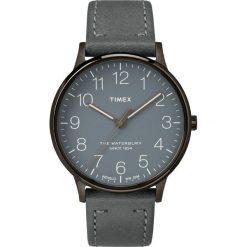 Timex - Zegarek TW2P96000. Czarne zegarki męskie marki Fossil, szklane. W wyprzedaży za 299,90 zł.