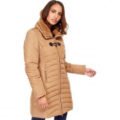 Płaszcz w kolorze beżowym. Czerwone płaszcze damskie zimowe marki Cropp, l. W wyprzedaży za 272,95 zł.