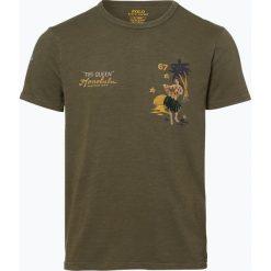 Polo Ralph Lauren - T-shirt męski, zielony. Zielone koszulki polo Polo Ralph Lauren, m. Za 249,95 zł.