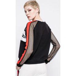 Answear - Bluza Sporty Fusion. Szare bluzy z nadrukiem damskie marki ANSWEAR, s, z bawełny, bez kaptura. W wyprzedaży za 69,90 zł.