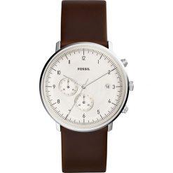 Zegarek FOSSIL - Chase Timer FS5488  Brown/Silver. Różowe zegarki męskie marki Fossil, szklane. Za 599,00 zł.