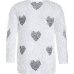 OVS HAIRY Sweter blanc de blanc. Czarne swetry chłopięce marki OVS, z materiału. Za 129,00 zł.