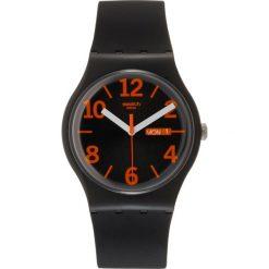 Biżuteria i zegarki męskie: Swatch ORANGIO Zegarek black