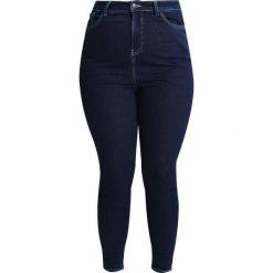 New Look Curves CONTRAST STITCH  Jeans Skinny Fit mid blue. Niebieskie jeansy damskie relaxed fit New Look Curves, z bawełny. Za 149,00 zł.