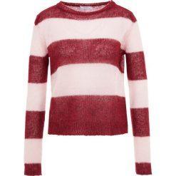 IBlues NOMINA Sweter bordeaux. Czerwone swetry klasyczne damskie marki iBlues, l, z materiału. Za 569,00 zł.