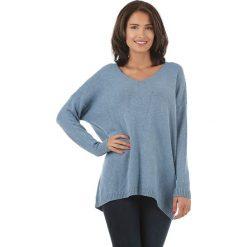 Sweter w kolorze niebieskim. Niebieskie swetry klasyczne damskie L'étoile du cachemire, z kaszmiru. W wyprzedaży za 129,95 zł.
