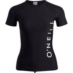 O'Neill SPORTS LOGO SKIN Koszulki do surfowania black out. Czarne t-shirty damskie O'Neill, z elastanu. Za 129,00 zł.