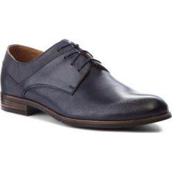 Półbuty SERGIO BARDI - Falerone SS127337518AD 107. Czarne buty wizytowe męskie marki Kazar, ze skóry, z otwartym noskiem. W wyprzedaży za 189,00 zł.