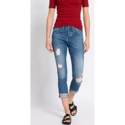 Medicine - Jeansy. Niebieskie jeansy damskie marki MEDICINE, z bawełny. W wyprzedaży za 89,90 zł.