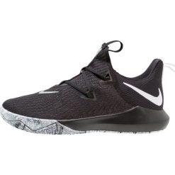 Nike Performance ZOOM SHIFT 2 Obuwie do koszykówki black/white/metallic silver. Czarne buty skate męskie Nike Performance, z materiału. Za 419,00 zł.
