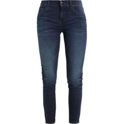 Rurki damskie: Sisley 5 POCKET Jeansy Slim Fit dark blue