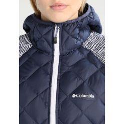Columbia TECHY HYBRID Kurtka z polaru nocturnal. Niebieskie kurtki sportowe damskie Columbia, m, z materiału. Za 499,00 zł.