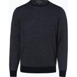Finshley & Harding - Sweter męski, niebieski. Czarne swetry klasyczne męskie marki Finshley & Harding, w kratkę. Za 169,95 zł.