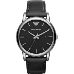 Zegarek EMPORIO ARMANI - Luigi AR1692 Black/Silver/Steel. Czarne zegarki męskie Emporio Armani. Za 850,00 zł.