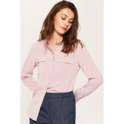 Gładka koszula - Różowy. Niebieskie koszule damskie marki House, m. Za 59,99 zł.