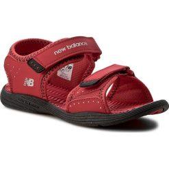 Sandały NEW BALANCE - K2004RBK  Czerwony. Czerwone sandały męskie skórzane marki New Balance. Za 109,00 zł.