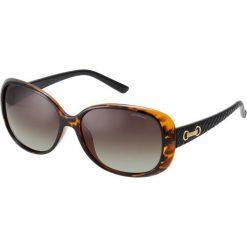 Okulary przeciwsłoneczne damskie aviatory: Polaroid Okulary przeciwsłoneczne havana