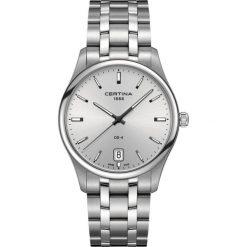 RABAT ZEGAREK CERTINA GENT QUARTZ C022.610.11.031.00. Szare zegarki męskie CERTINA, ze stali. W wyprzedaży za 1381,60 zł.