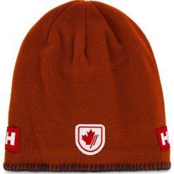 Czapka HELLY HANSEN - Mountain Beanie Fleece Lined 67083-200 Red Brick. Niebieskie czapki męskie marki Helly Hansen. Za 99,00 zł.