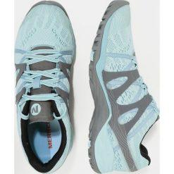 Merrell SIREN HEX Q2 Obuwie hikingowe bleached aqua. Niebieskie buty sportowe damskie marki Merrell, z materiału. W wyprzedaży za 407,20 zł.