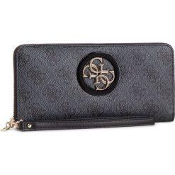 Duży Portfel Damski GUESS - SWSG71 86460 COA. Czarne portfele damskie Guess, z aplikacjami, ze skóry ekologicznej. Za 279,00 zł.