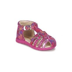 Sandały Dziecko  GBB  PERLE. Czerwone sandały dziewczęce GBB. Za 247,20 zł.