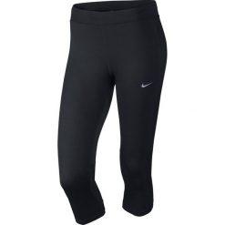Legginsy sportowe damskie: Nike Legginsy Nike DF Essential Capri czarne r. M (645603 010)