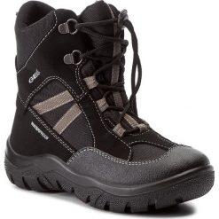 Buty zimowe chłopięce: Śniegowce GEOX – J Clady B.B Wpf B J745MB 050FU C0017 Black/Grey