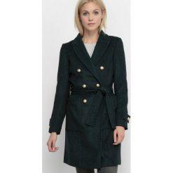 Kurtki i płaszcze damskie: Płaszcz w diagonalu Coat Solid